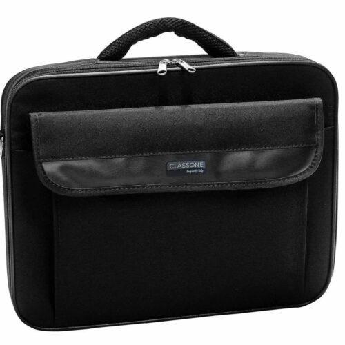 Classone ZEN730 15,6 inç Uyumlu Laptop Notebook El Çantası - Siyah