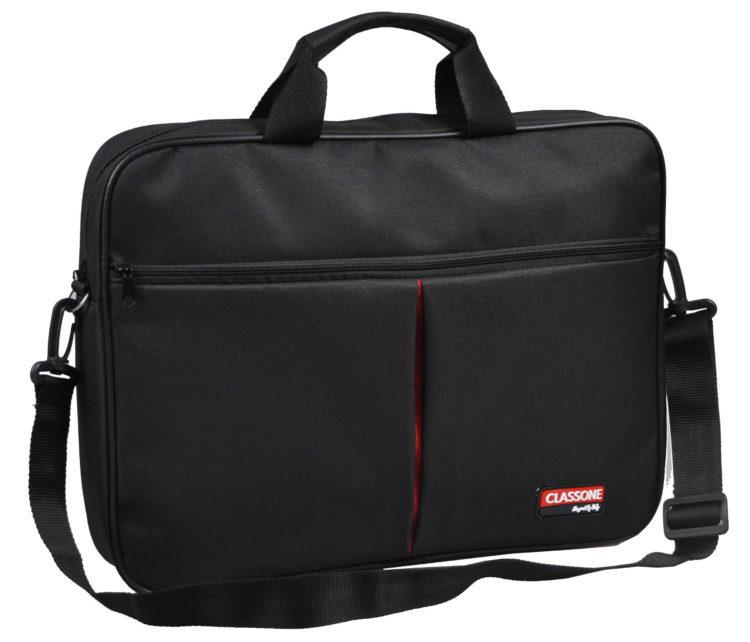 Classone BND300 Eko Serisi 15,6 inç Laptop Notebook El Çantası-Siyah