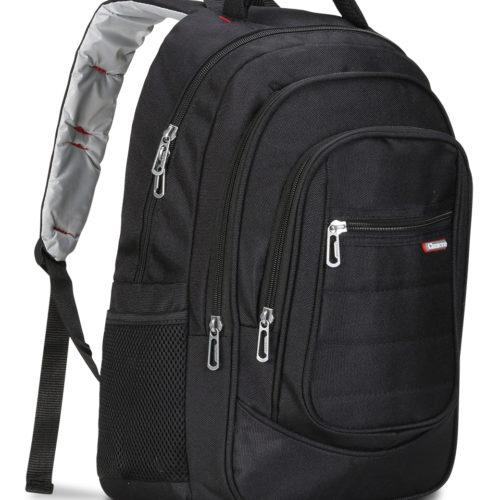 Classone BP-L200 Palermo Serisi 15,6 inç Uyumlu Laptop Notebook Sırt Çantası-Siyah
