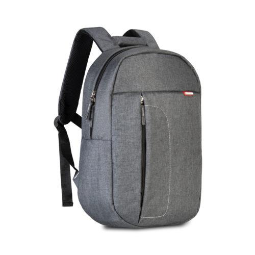 Classone BP-M105 Sırt Çantası -14 inç Uyumlu Laptop Notebook Sırt Çantası-Antrasit-Füme
