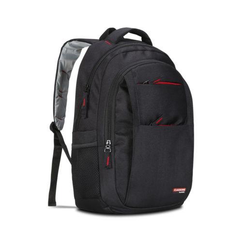 Classone BP-L300 Siena Serisi 15,6 inç Uyumlu Laptop Notebook Sırt Çantası-Siyah