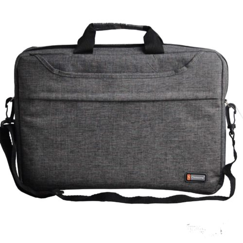 Classone TL2564 Top Loading Large Serisi 15,6 inç Uyumlu Laptop Notebook El Çantası Gri