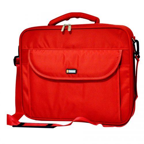 Classone G16002L Guard Serisi Kasnaklı 15,6 inç Uyumlu Laptop Notebook Çantası - Kırmızı