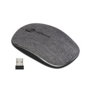 CLASSONE FABRIC 2.4 GHZ WIRELESS MOUSE - BLACK