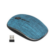 CLASSONE FABRIC 2.4 GHZ WIRELESS MOUSE - BLUE