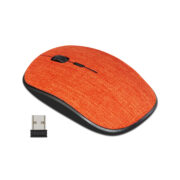 CLASSONE T89 FABRIC 2.4 GHZ WIRELESS MOUSE - RED