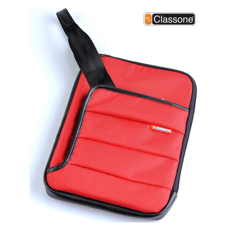 Classone TBL-U102 Colorful Small Serisi 7-10 inç Uyumlu Tablet Çantası - Kırmızı