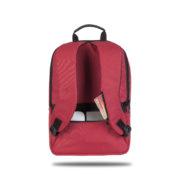 Classone TW1702 Twin Color 17 inch Notebook Çantası-Kırmızı