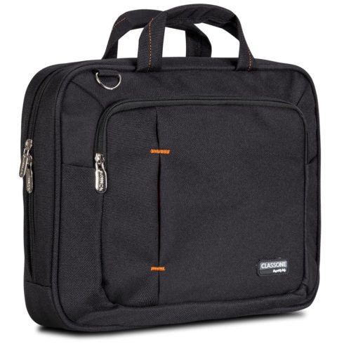 Classone UL130 Ultrabook Medium Serisi 15,6 inç Uyumlu Laptop Notebook El Çantası -Siyah