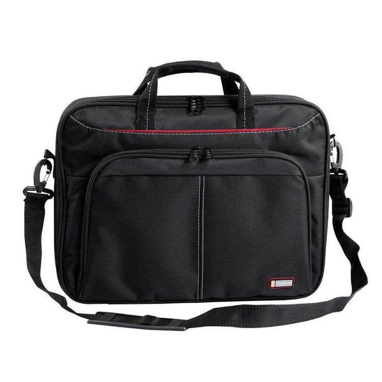 Classone CL310 Pavia Serisi 15,6 inç Uyumlu Laptop Notebook El Çantası - Siyah