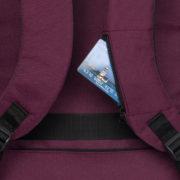 Classone BP-Z205 Zaino Serisi 15,6 inç Laptop Notebook Sırt Çantası-Bordo