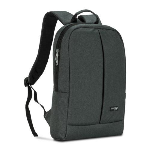 Classone BP-Z206 Zaino Serisi 15,6 inç Laptop Notebook Sırt Çantası-Füme