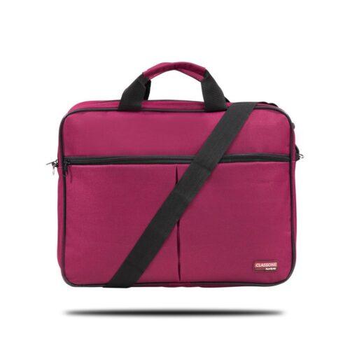 Classone BND305 Eko Serisi 15,6 inç Laptop Notebook El Çantası-Bordo