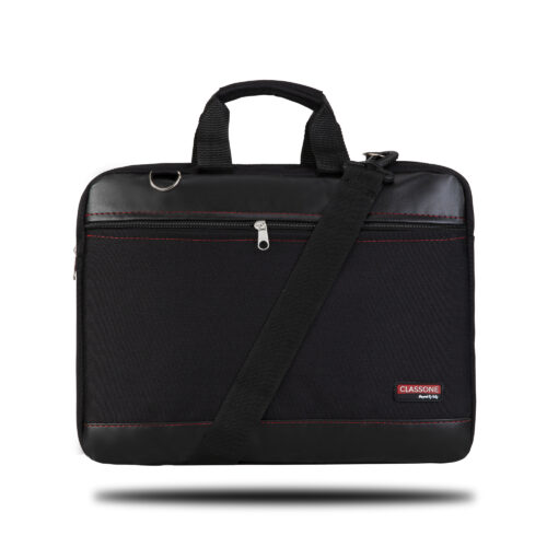 Classone TL1300 Top Loading  Medium Serisi 13 inç Uyumlu Laptop Notebook El Çantası -Siyah