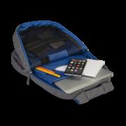 Classone BP-M304 Roma Serisi 14 inç Uyumlu Laptop Notebook Sırt Çantası-Gri